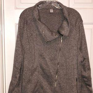 NWOT Old Navy Plush Knit Moto Jacket Size XXL